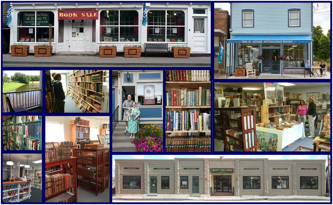 5 Dreamy Book Towns, blog post by Aspasia S. Bissas