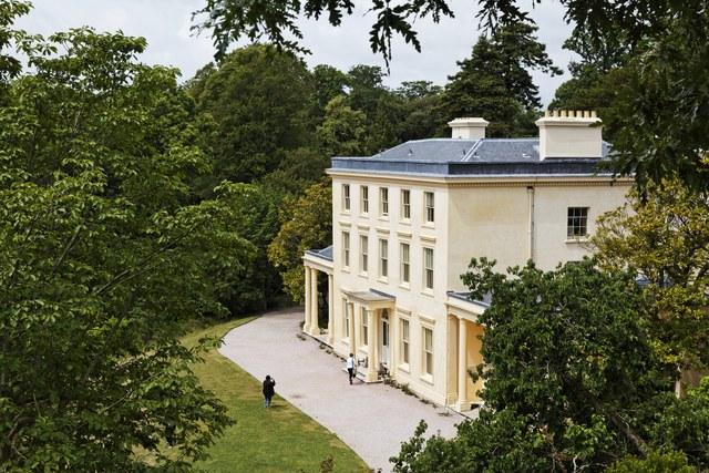 10 Stunning Writers' Homes, blog post by Aspasia S. Bissas, aspasiasbissas.com.  Agatha Christie, Greenway Estate, Galmpton, Devon, England