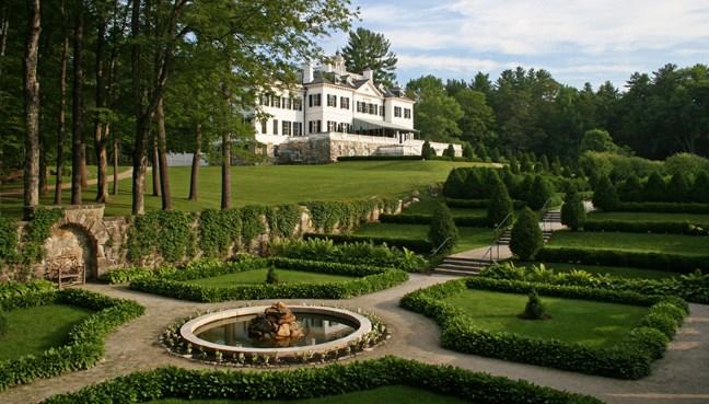 10 Stunning Writers' Homes, blog post by Aspasia S. Bissas, aspasiasbissas.com. . Edith Wharton, The Mount, Lenox, Massachusetts, The Decoration of Houses