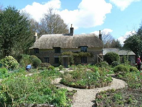 10 Stunning Writers' Homes, blog post by Aspasia S. Bissas, aspasiasbissas.com.  Thomas Hardy, Higher Bockhampton, Dorset, England.