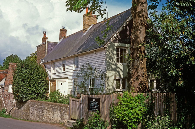 10 Stunning Writers' Homes, blog post by Aspasia S. Bissas, aspasiasbissas.com. . Virginia Woolf, Mrs. Dalloway, Monk's House, Rodmell, East Sussex, England, Bloomsbury Group.