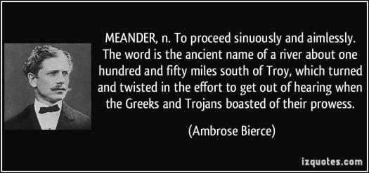 meander definition