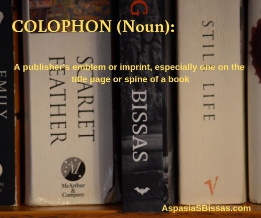 COLOPHON (Noun)