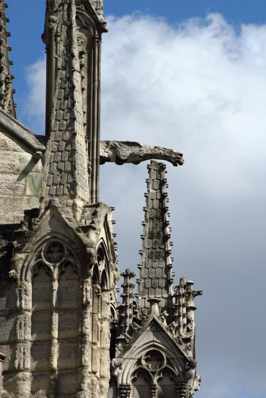 Notre Dame gargoyle