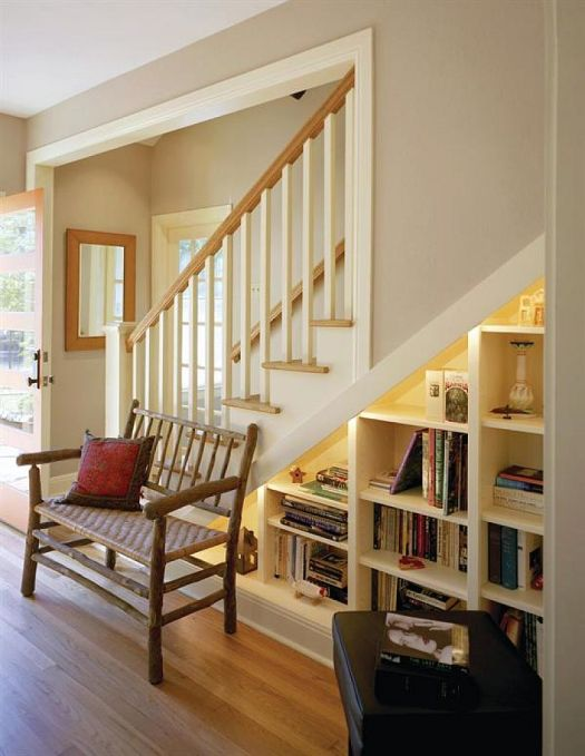 books under the stairs 3