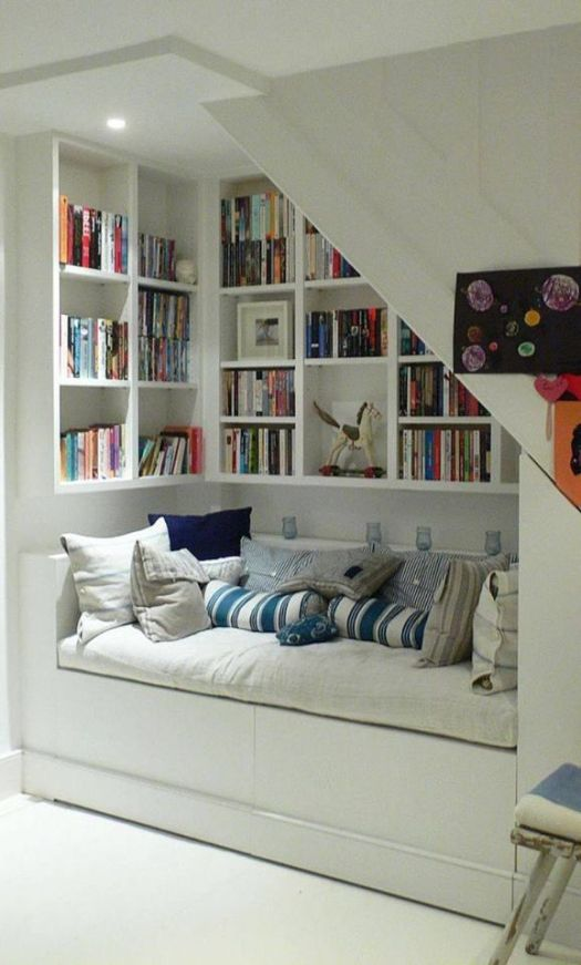 books under the stairs 5