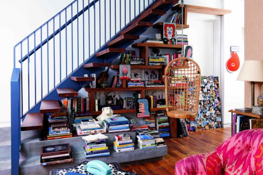 books under the stairs 6