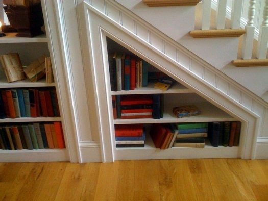books under the stairs 8