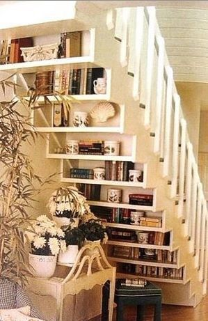 books under the stairs 9