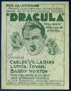 dracula in spanish