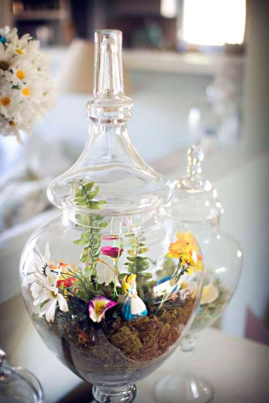 Alice in Wonderland terrarium
