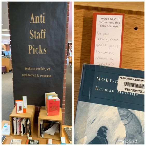 anti-staff picks