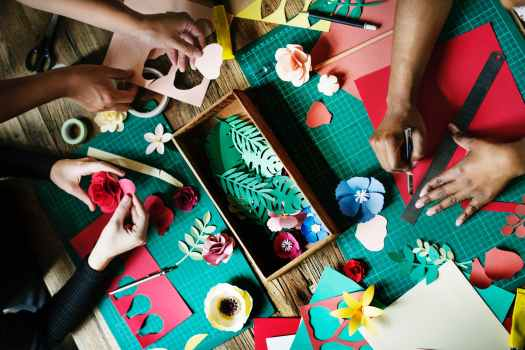 artistic arts and crafts colourful conceptual
