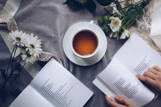 tea and reading, Aspasia S, Bissas