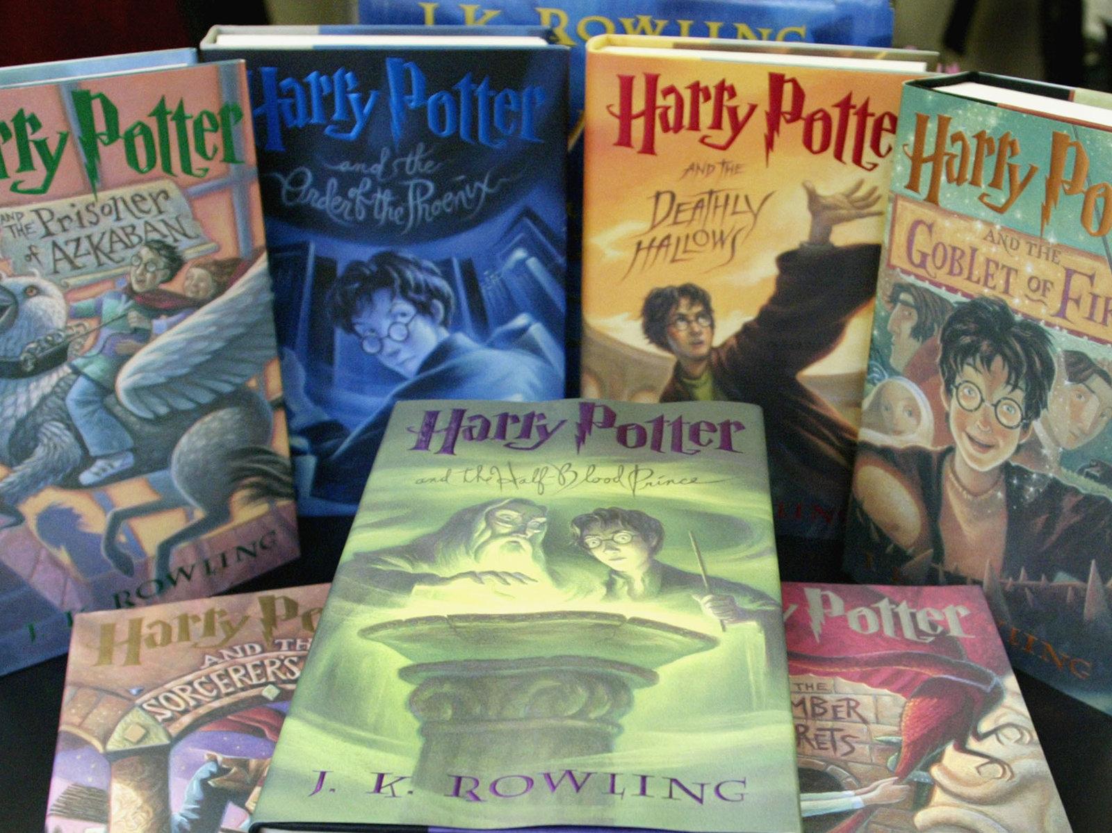 harry potter books, aspasia s. bissas