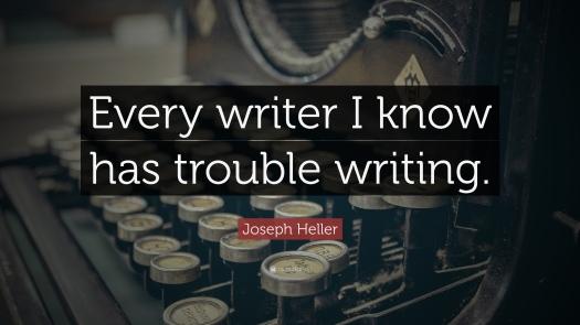 joseph heller writing quote, aspasia s. bissas