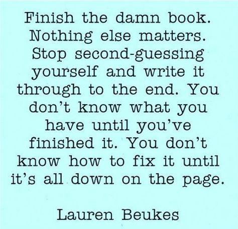 lauren beukes writing quote, aspasia s. bissas