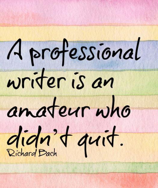 richard Bach writing quote, aspasia s. bissas
