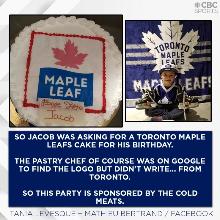 Maple Leaf Cake via aspasiasbissas.com