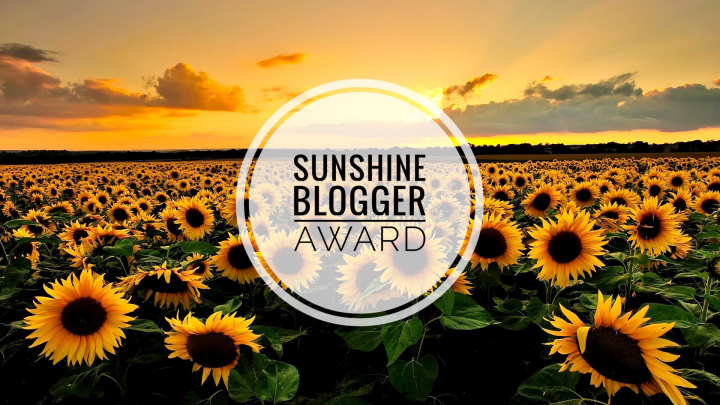 sunshine blogger award, aspasia s. bissas