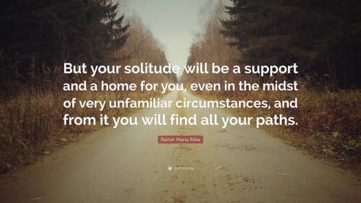Quote of the Day by Rainier Maria Rilke, via Aspasia S. Bissas