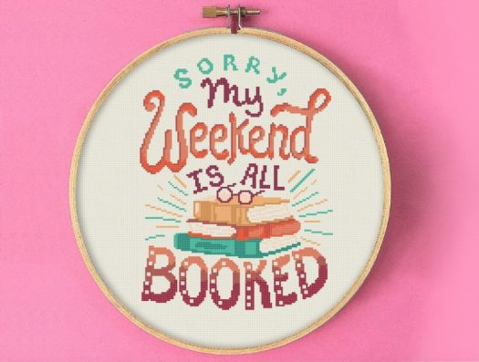 11 Awesome Literary Embroideries, blog post by Aspasia S. Bissas