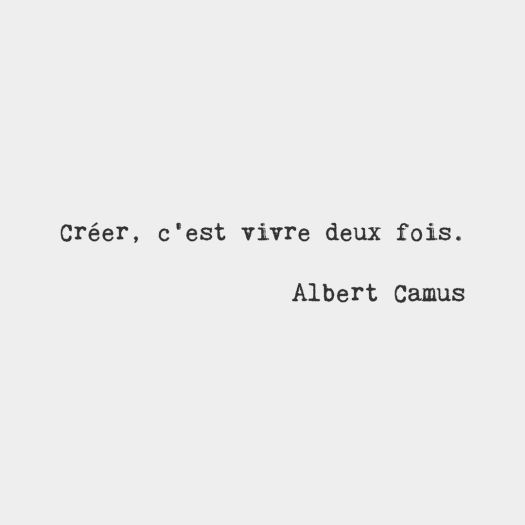 Quote of the Day by Albert Camus, post by Aspasia S. Bissas