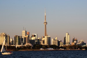 Photo: View of the Toronto Harbour, post by Aspasia S. Bissas