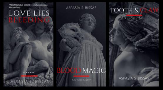 Aspasía S. Bissas book covers png
