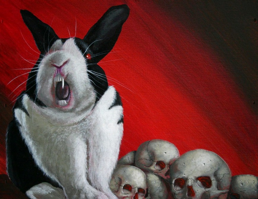 The Most Fiendish Vampire, blog post by Aspasia S. Bissas, bunnicula, vampire rabbit, vegetarian vampire, international rabbit day, rabbit, rabbits, bunny, bunnies, aspasiasbissas.com