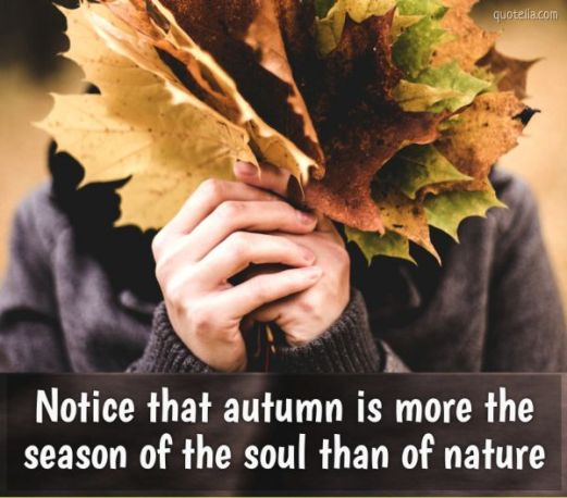 Happy Equinox! Blog post by Aspasía S. Bissas, quote, quotes, autumn quotes, notice that autumn is more the season of the soul than of nature, friedrich nietzche