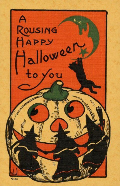 happy halloween, blog post, aspasia s. bissas, helloween, samhain, a rousing happy halloween to you, vintage, vintage halloween, witches, jack o lantern, aspasiasbissas.com