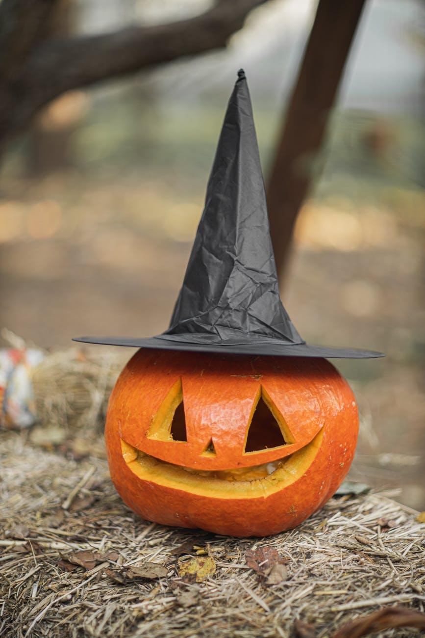 Hallotober Tag, blog post by Aspasia S. Bissas, Halloween, Samhain, October, Autumn, tag, blog post. Aspasia S. Bissas, spooky, aspasiasbissas.com, pumpkin jack o lantern, witch