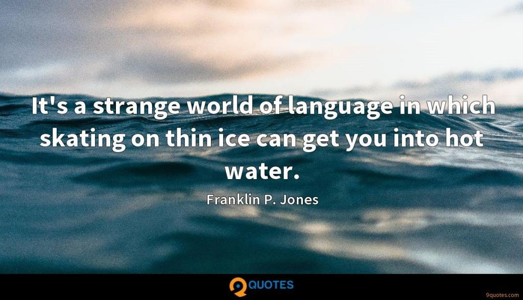 Quote of the Day, blog post by Aspasia S. Bissas. Quote by Franklin P. Jones.