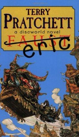 Currently Reading, blog post by Aspasia S. Bissas, aspasiasbissas.com, Terry Pratchett Eric, Discworld, Rincewind