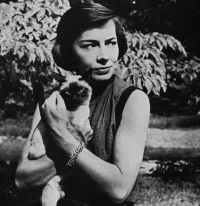 Writers and Cats, blog post by Aspasia S. Bissas, aspasiasbissas.com, Patricia Highsmith, The Talented Mr. Ripley